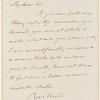 Joseph G. Cogswell letter