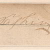 George Washington clipped autograph