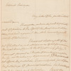 John Dickinson letter to James Pemberton
