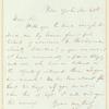 Henry Drisler letter to E.A. Duyckinck