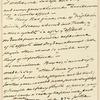 """David Hosack manuscript notes, """"Abstinence and Depletion"""""""