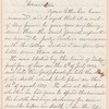 Silas Potter letter to E.A. Duyckinck