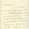 John Jay letter to E.A. Duyckinck