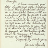 Jared Sparks letter to E.A. Duyckinck