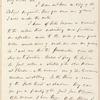 William Henry Seward letter to George E. Blake