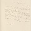 Richard Hildreth letter to E.A. Duyckinck