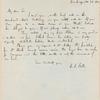 Cornelius Conway Felton letter