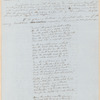 John Greenleaf Whittier letter containing untitled poem, to Wiley & Putnam