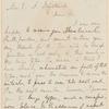 Parke Godwin letter to E.A. Duyckinck