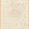 Epes Sargent letter to E.A. Duyckinck