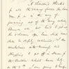 James T. Fields letter to E.A. Duyckinck