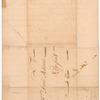 Letter from John Tudor