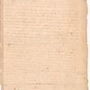 Letter to Christopher Gadsden