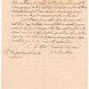 Letter from John Boylston to William Cooper