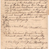 Indictment of Ponsonby Molesworth