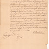 Letter from Thomas Hutchinson to the Council of Massachusetts