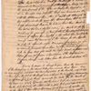 Letter to Benjamin Franklin and others