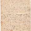Letter from Arthur Lee