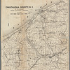 Map of Chautauqua County, N.Y: to accompany Child's gazetteer and directory
