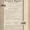 Bungalow magazine, Vol. 5, no. 10