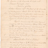 Minutes of a Conference of the Continental Congress and representatives of New England colonies with General Washington