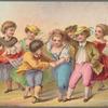 Child dancers in prints