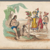 Dances of French Polynesia in prints