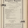 Bungalow magazine, Vol. 6, no. 4