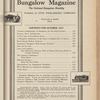 Bungalow magazine, Vol. 6, no.10