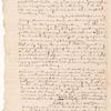 Memorandum concerning the value of Nova Scotia and a plan for its capture