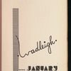 The Owl: January 1935