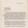 Letter from Clarke to James Baldwin