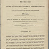 Prospectus of a course of lectures