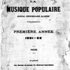 La Musique populaire, Vol. 1, Front matter
