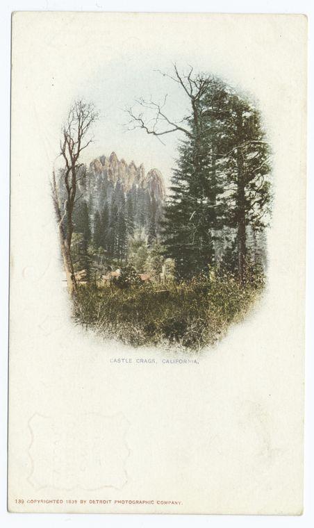 Castle Crags, Mt. Shasta, Calif.
