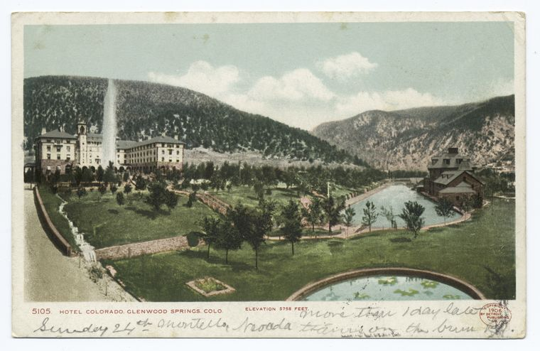 This is What Hotel Colorado Looked Like  in 1900