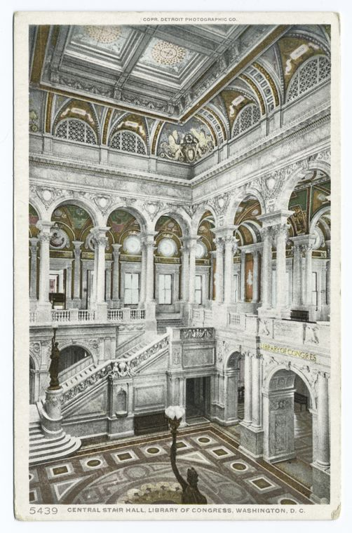 This is What Library of Congress Looked Like  in 1900