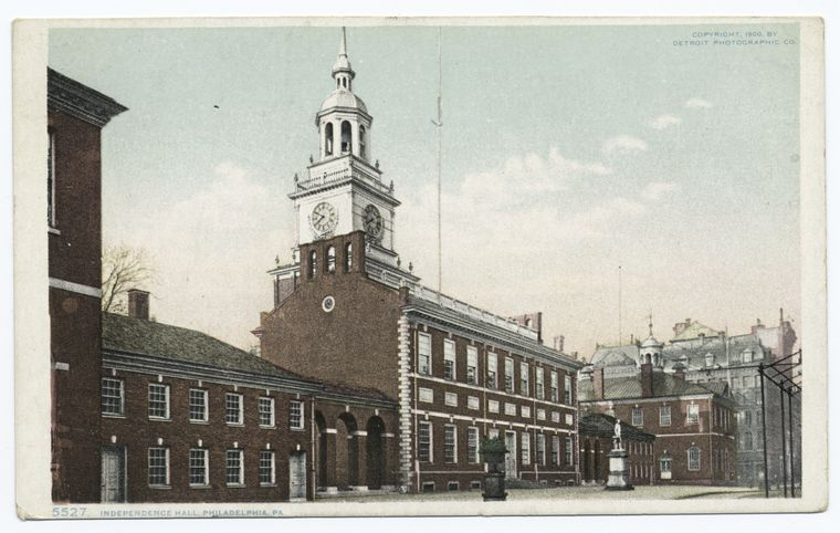 Fascinating Historical Picture of Independence Hall in 1900
