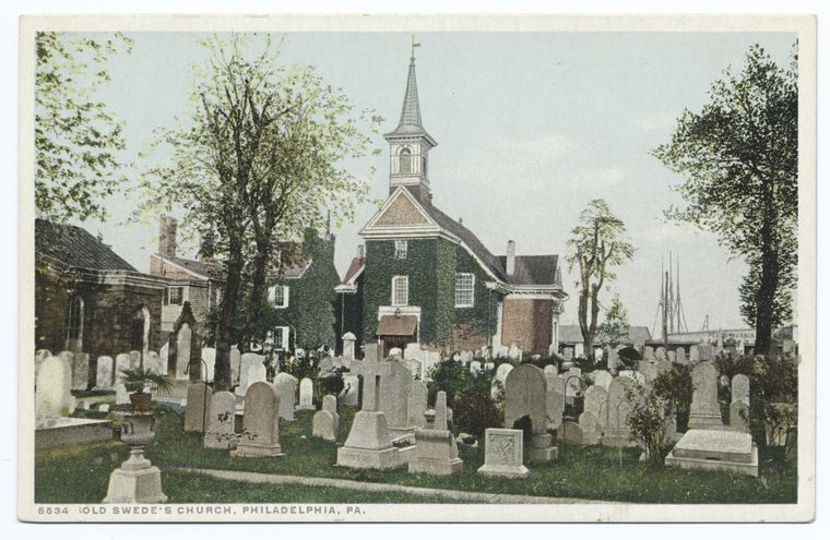 Fascinating Historical Picture of Gloria Dei Church in 1900
