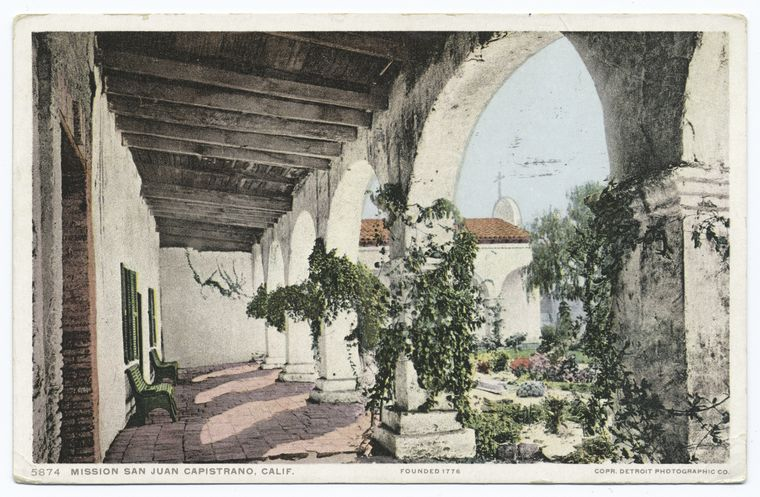 Fascinating Historical Picture of Mission San Juan Capistrano in 1900
