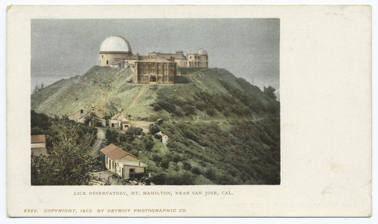 This is What Lick Observatory Looked Like  in 1900