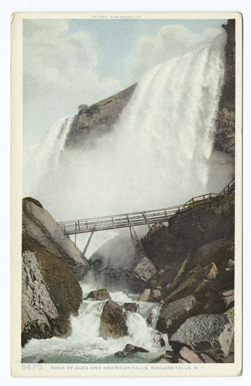American Falls and Rock of Ages, Niagara, N. Y.