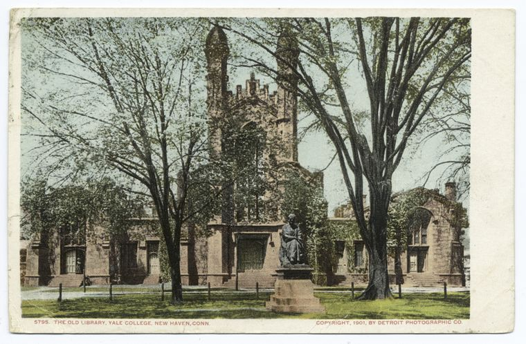 This is What Yale College Looked Like  in 1900