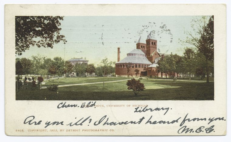 This is What University of Michigan Looked Like  in 1902