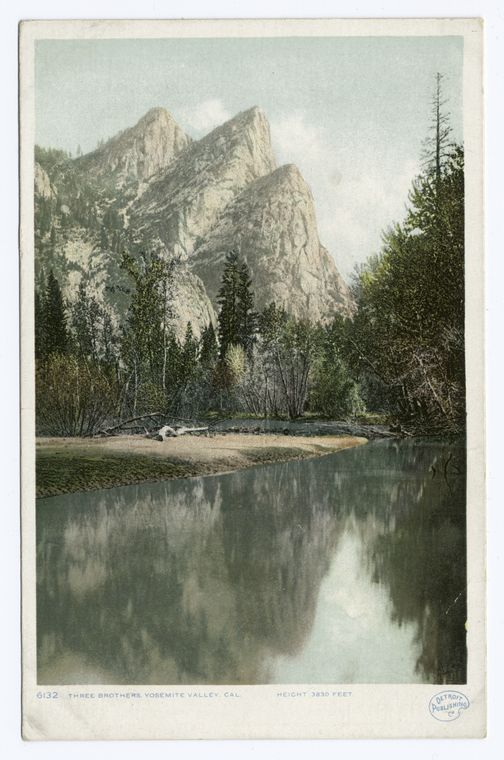 Three Brothers, Yosemite Valley, Calif.