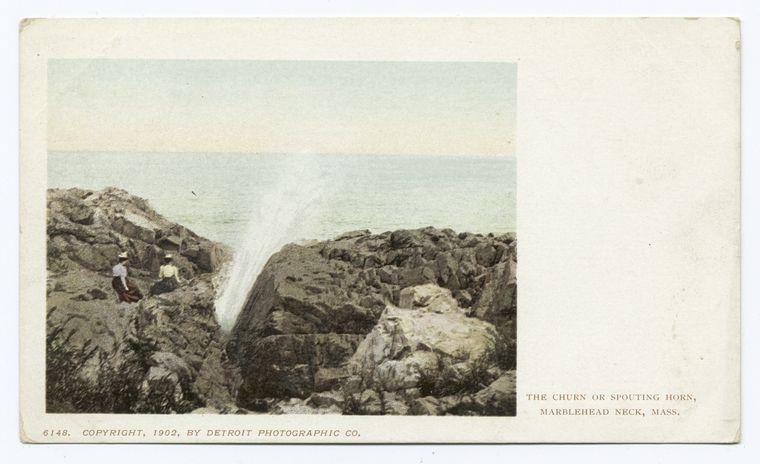 Church or Spouting Horn, Marblehead, Mass.