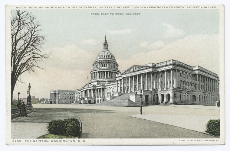 This is What United States Capitol Looked Like  in 1902