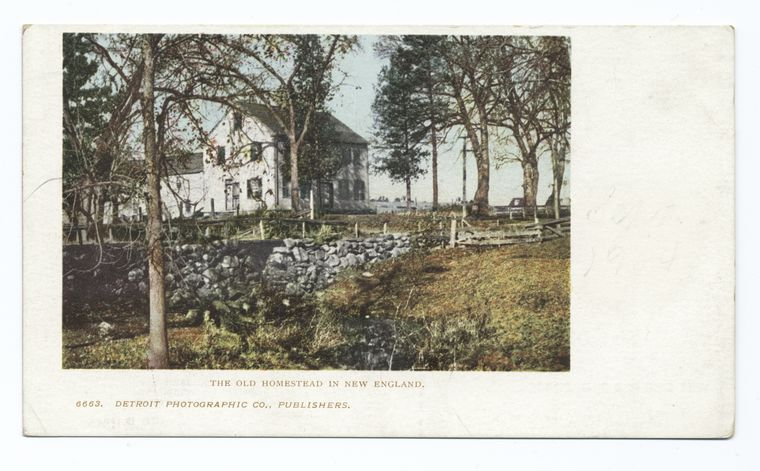 Old Homestead in New England