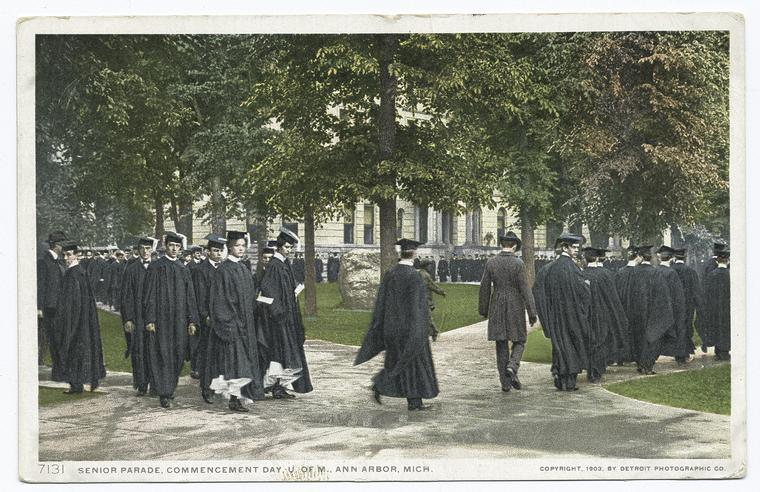 Fascinating Historical Picture of University of Michigan in 1903