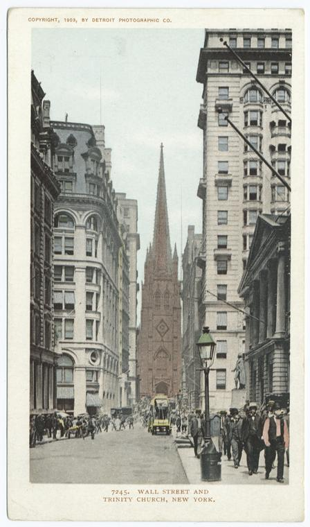 Fascinating Historical Picture of Trinity Church in 1903